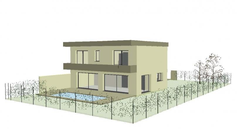 Vendu - St Priest - Maison contemporaine 150m² Terrain 510m² avec piscine