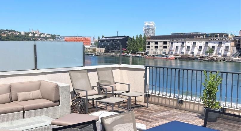 Sous compromis - Lyon 5 - Quai de Saône - Splendide appartement de 135 m² avec terrasse de 50 m²