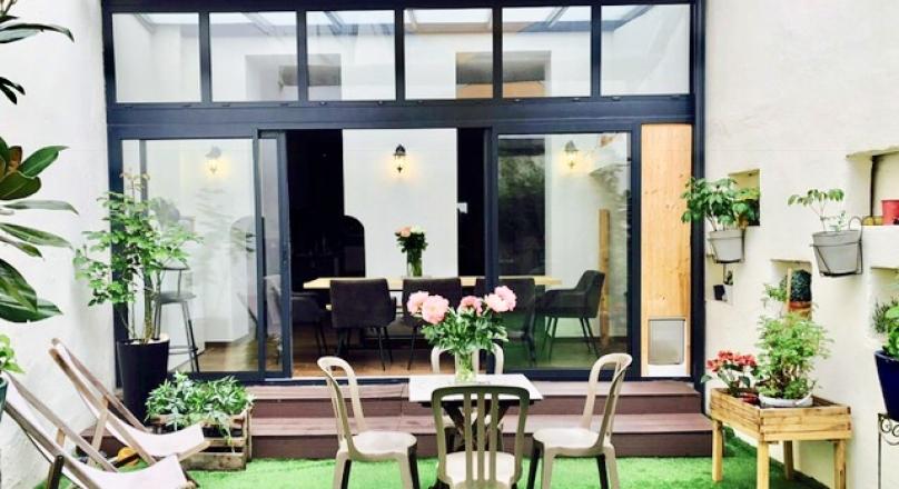 Sous compromis - Exclusivité - Villeurbanne - Splendide appartement esprit loft avec terrasse de 48 m²