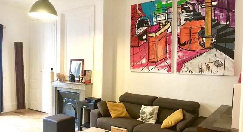 Sous compromis - Lyon 6 - Magnifique appartement de 70 m² en dernier étage