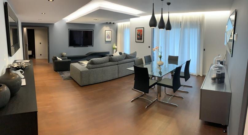 Loué - Lyon 06 - T4 meublé de prestige de 140 m² vue rhône