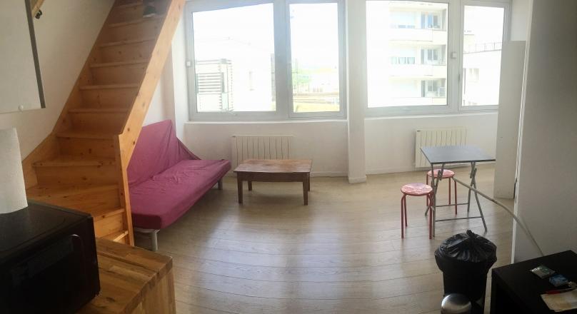 Lyon 7 - T2 en duplex de 39 m²