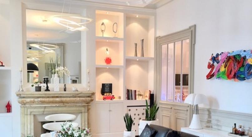 Lyon 6 - Foch - Superbe appartement bourgeois de 248 m² avec balcon