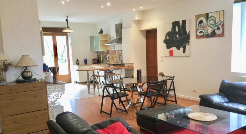 Exclusivité - Caluire et Cuire - Superbe appartement 100m² jardin 400m² vue Saône