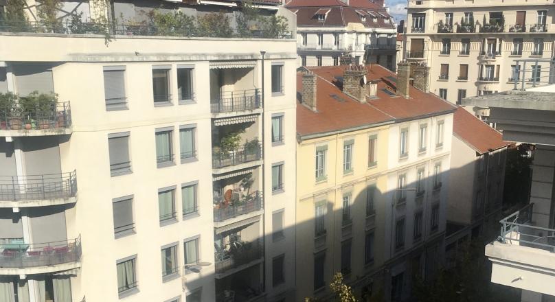 Loué - Lyon 6 - Grand T3 meublé de 78m²