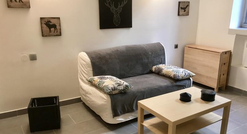 Loué - Lyon 3 - Studio meublé de 22m² + mezzanine 8m²