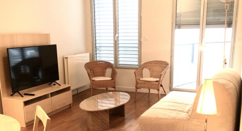 Lyon 6 - Très bel appartement meublé 80 m² avec garage et balcon
