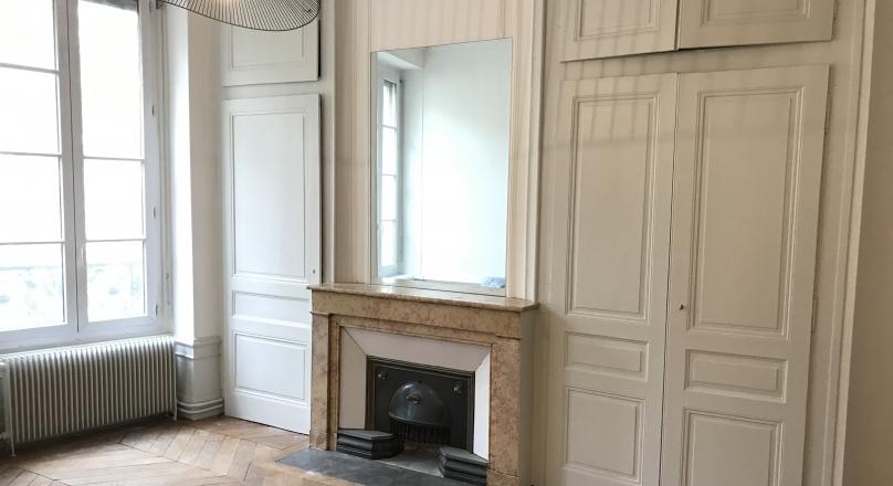 Loué - Lyon 06 - beau T2 meublé de 55 m²
